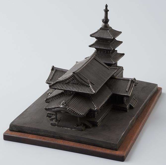 震災記念堂模型