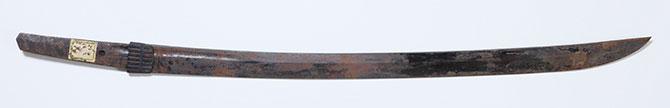 戦災にあった日本刀(1)