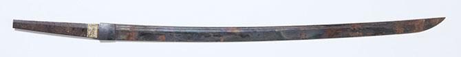 戦災にあった日本刀(2)
