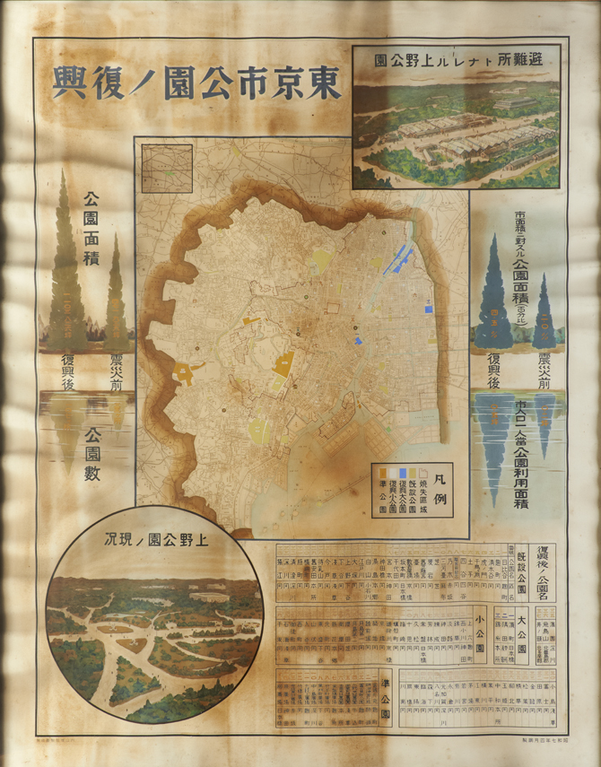 東京市公園ノ復興